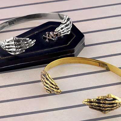 Brass Twin Hand Bracelet