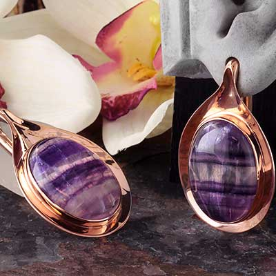 Aura Weights with Fluorite