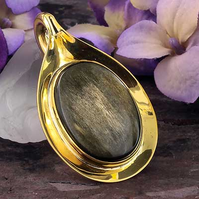 Aura Weights with Goldensheen Obsidian