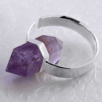 Alchemy Weights with Amethyst