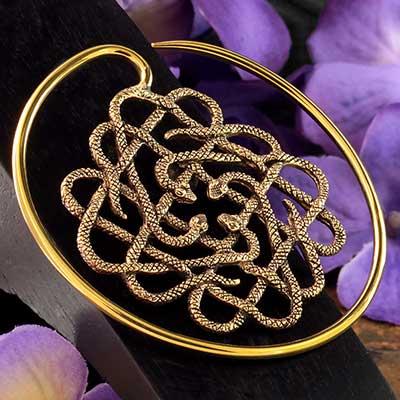 Brass Eternal Blessing Design