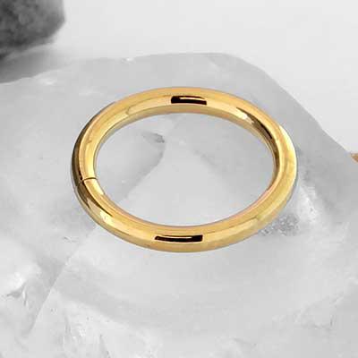 18k Gold Seamless Ring