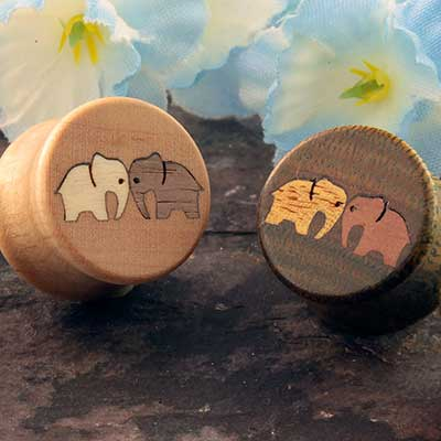 Wood Butting Heads Plugs