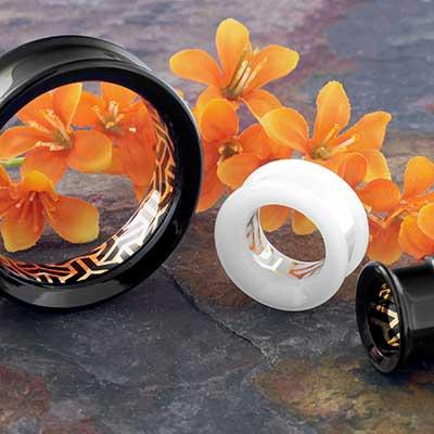 Glass Bishamon Kikko Image Eyelets