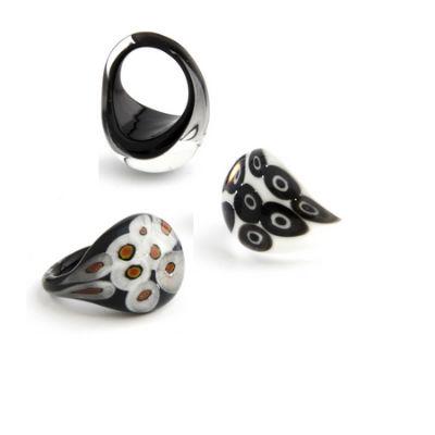 PRE-ORDER Millifiori Glass Ring