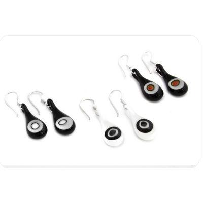 PRE-ORDER Glass Millifiori Earrings