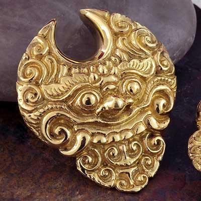 Brass Barong Saddle Weights