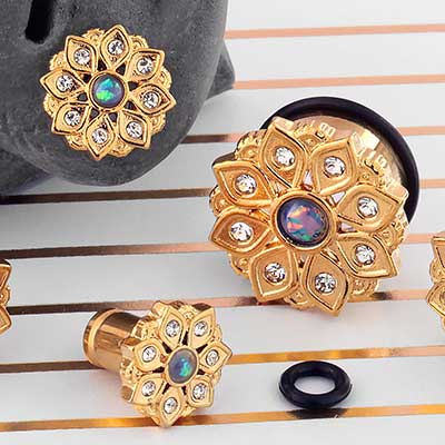 Single Flare Solar Flower Plugs