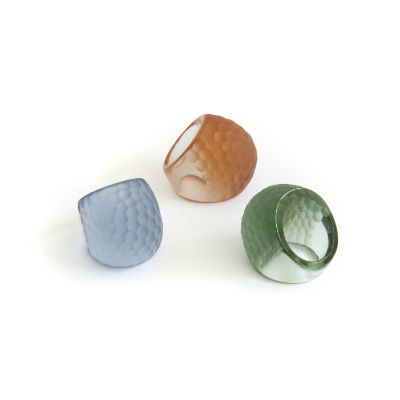 PRE-ORDER Martele Solid Color Rings