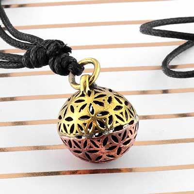 Seed of Life Ball Necklace