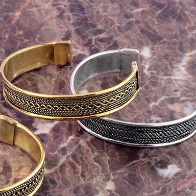 Assorted Ornate Bangle Cuff Bracelet