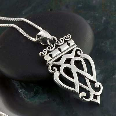 Silver Luckenbooth Necklace