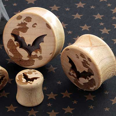 Moon Bat Plugs