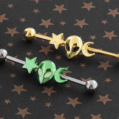 Alien Industrial Barbell Set