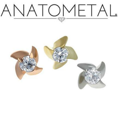 PRE-ORDER 18k Gold New Pinwheel End