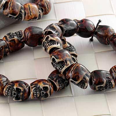 Resin Skull Bracelet