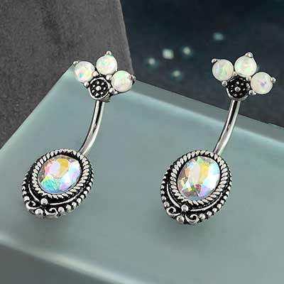 Trio Opal and AB Gem Navel