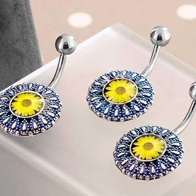 Yellow Daisy Navel