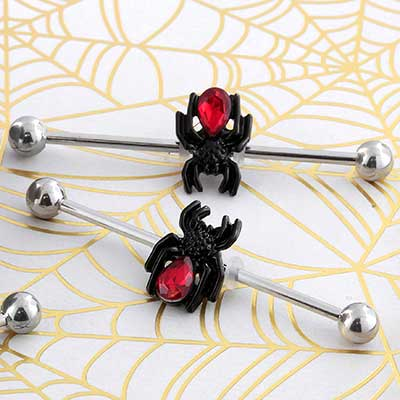 Red Spider Industrial Barbell