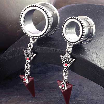 Ornate Arrow Dangle Eyelet