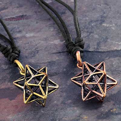 Star Tetrahedron Necklace