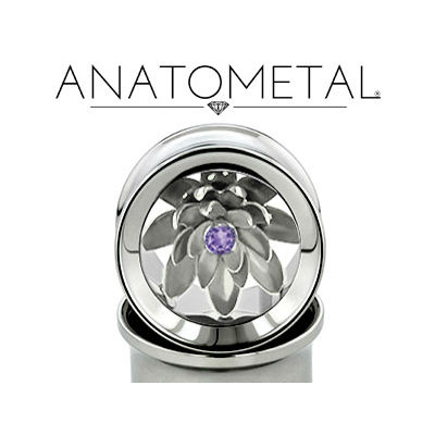 PRE-ORDER Steel Silver Lotus Eyelets