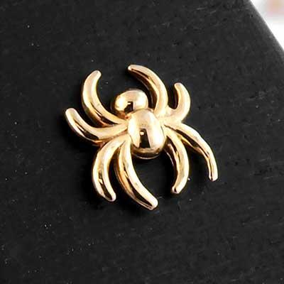 PRE-ORDER 14k Gold Spider End