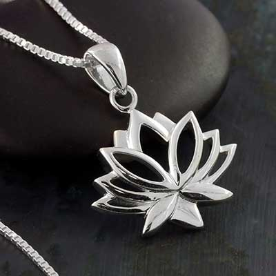 Silver Lotus Jewelry Design
