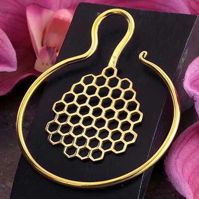 Brass Bee Coil Weights