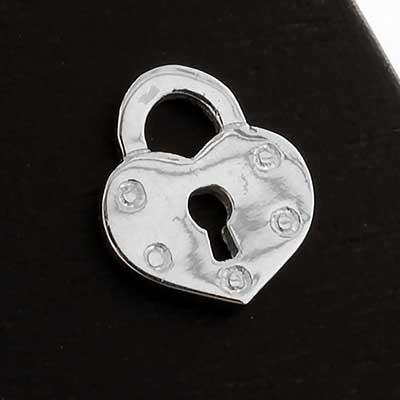 Heart Locket Threadless End