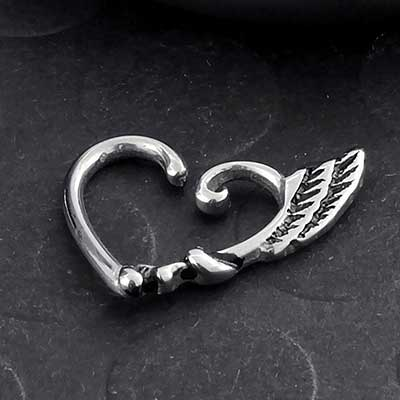 Winged Heart Seamless Ring
