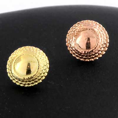 18k Gold Hera Threaded End