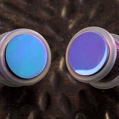 Titanium No Flare Plugs