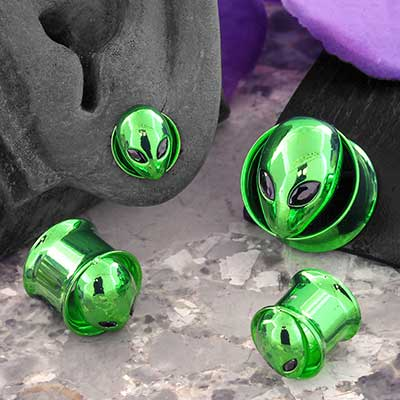 Double Flare Alien Plugs