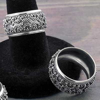 Silver Dynasty Ring