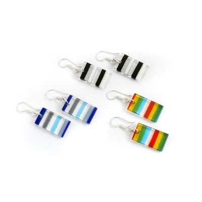 PRE-ORDER Linear Glass Earrings