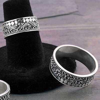 Silver New Beginnings Ring