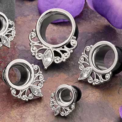 Single Flare Royal Gem Eyelets