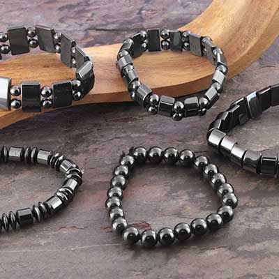 Assorted Magnetic Hematite Bracelet
