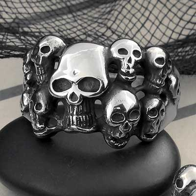 Catacomb Steel Ring