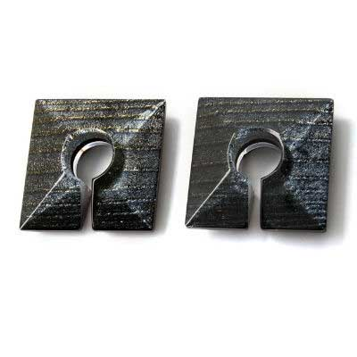 PRE-ORDER Iridescent Square Glass Weights