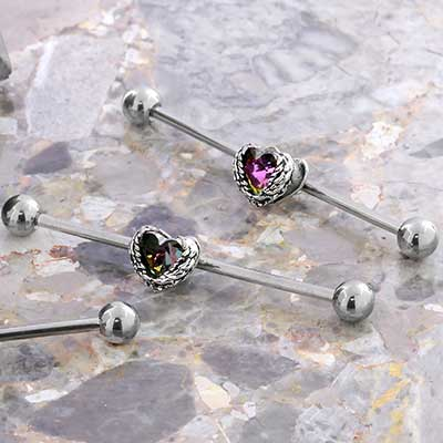 Seraph Heart Industrial Barbell
