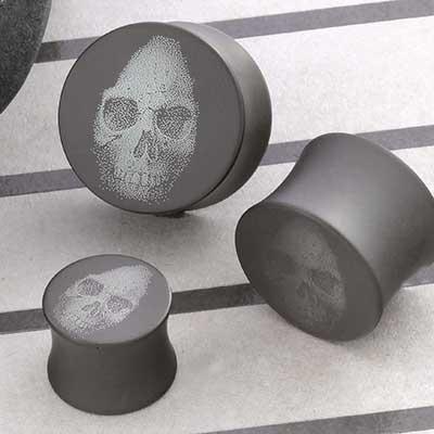 Titanium Skull Canister Plug
