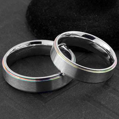 Steel Rainbow Trim Ring