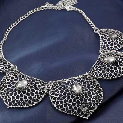 Lotus Petal Necklace