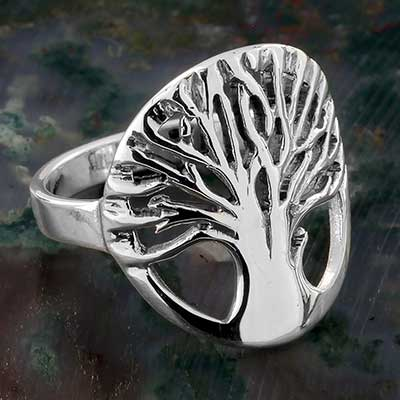 Silver and Tree Ring