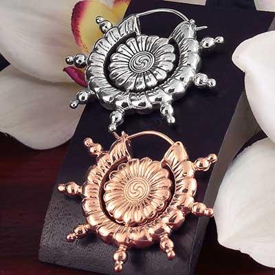 Hannah Pixie Dharma Wheel Earrings
