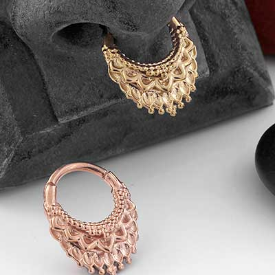 Ultra Temple Septum Clicker Ring