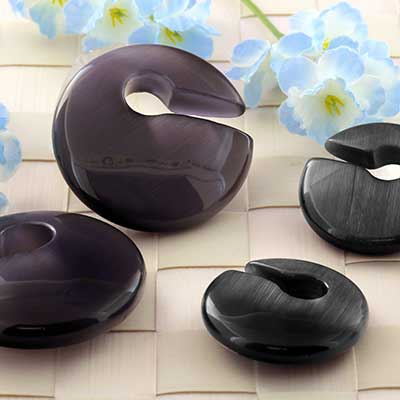 Glass Keyhole Weights