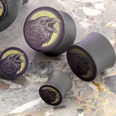 Titanium Raven Canister Plug